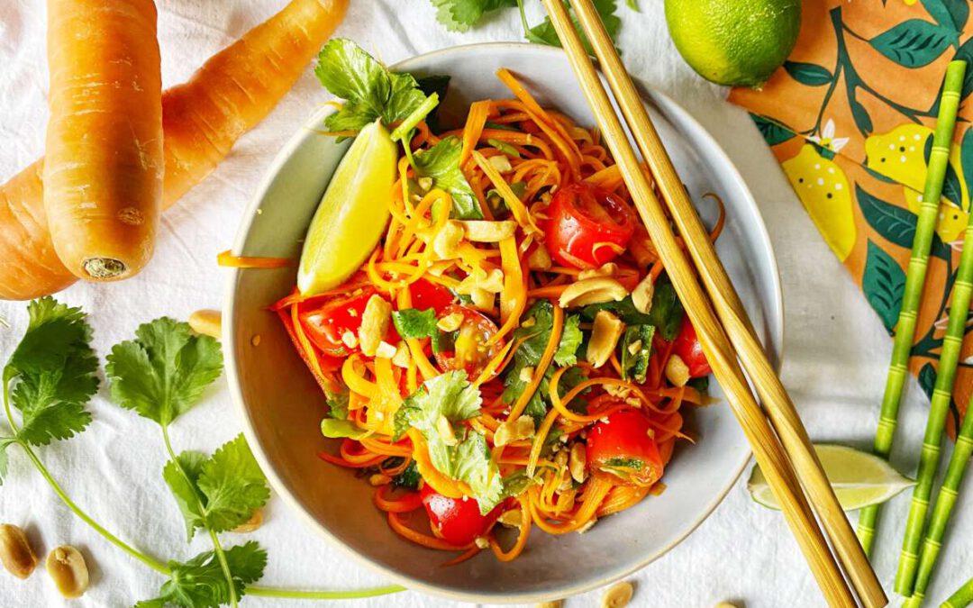 Thaise wortelsalade